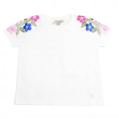 Dixie Kids T-shirt cotone bianca bambina by Dixie Kids mbb5032g16dixie19
