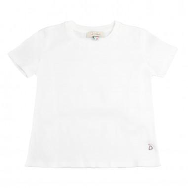 Dixie Kids T-shirt basica bambina bianca by Dixie Kids mb51030g16dixie19