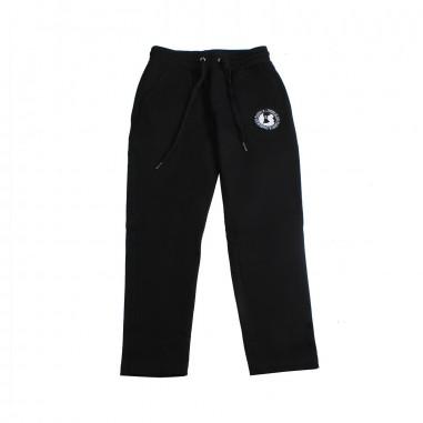 Richmond Boy black cotton joggers by John Richmond Junior rbp19159pa19rich19