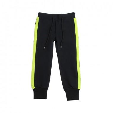 Richmond Girls black cotton joggers by John Richmond Junior rgp19149pa19rich19