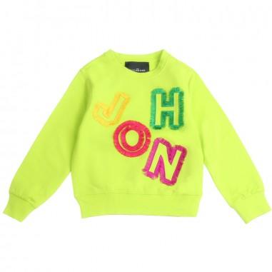 Richmond Girls green sweatshirt by John Richmond Junior rgp19023fe19rich19