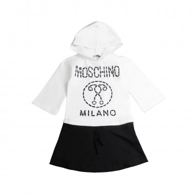 Moschino Kids Abito moschino milano bambina by Moschino Kids HDV07S-81214-LDA00