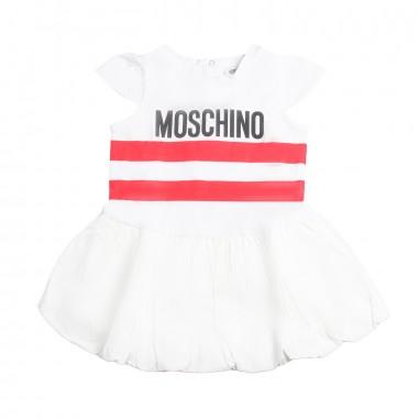 Moschino Kids Abito cotone moschino neonata by Moschino Kids MDV076-85005-LBA00