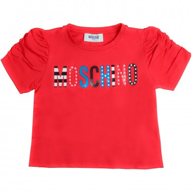 Moschino Kids T-shirt rossa moschino bambina by Moschino Kids HDM02W-50316-LBA10