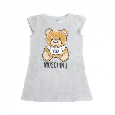 Moschino Kids Abito jersey grigio moschino by Moschino Kids HAV059-60901-LBA00