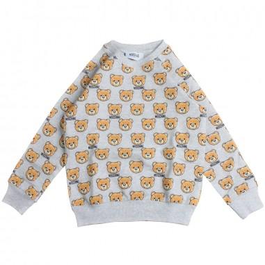Moschino Kids Felpa orsetti moschino bambini by Moschino Kids HVF01W-84008-LDB10