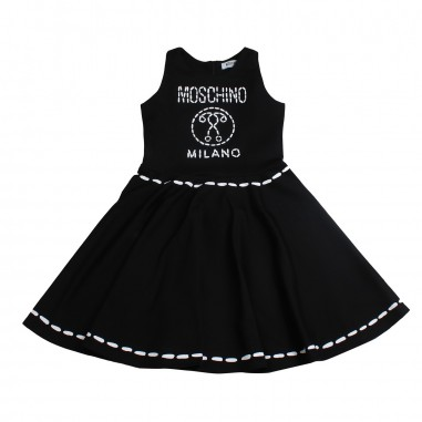 Moschino Kids Girls moschino milano dress by Moschino Kids HDV07L-60100-LJA03