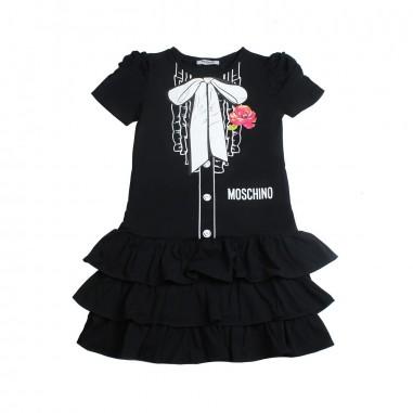 Moschino Kids Abito moschino stampato bambina by Moschino Kids HDV07O-60100-LBA00