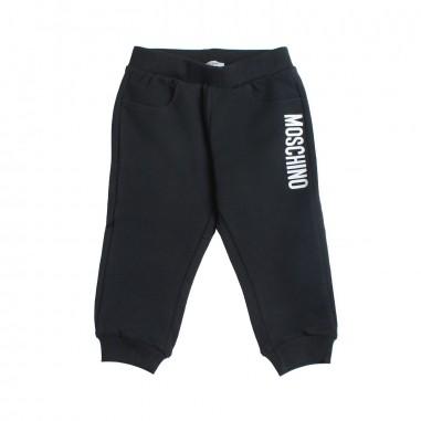 Moschino Kids Pantalone felpa neonati moschino by Moschino Kids MNP023-60100-LDA00