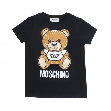 46e1ad4069e9e Moschino Kids Girls moschino teddy t-shirt by Moschino Kids  HPM01I-60100-LBA00