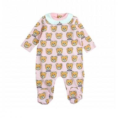 Moschino Kids Tutina orsetti moschino neonata by Moschino Kids MUY01X-84002-LAB09