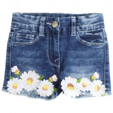 Monnalisa Shorts jeans stretch bambina by Monnalisa 193401R119-19-0055monna19