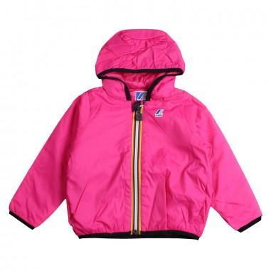 K-Way Girls fuchsia ripstop jacket by K-way Kids k008qi0z1119