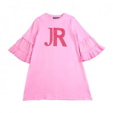 Richmond Girl pink logo dress by John Richmond Junior rgp19192ve19rich19