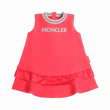 Moncler Girls molleton stretch dress Kids 8574900809ac412mo19