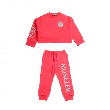 Moncler Set felpa & Joggers stretch bambina - Moncler Kids 8858150809ac412mo19