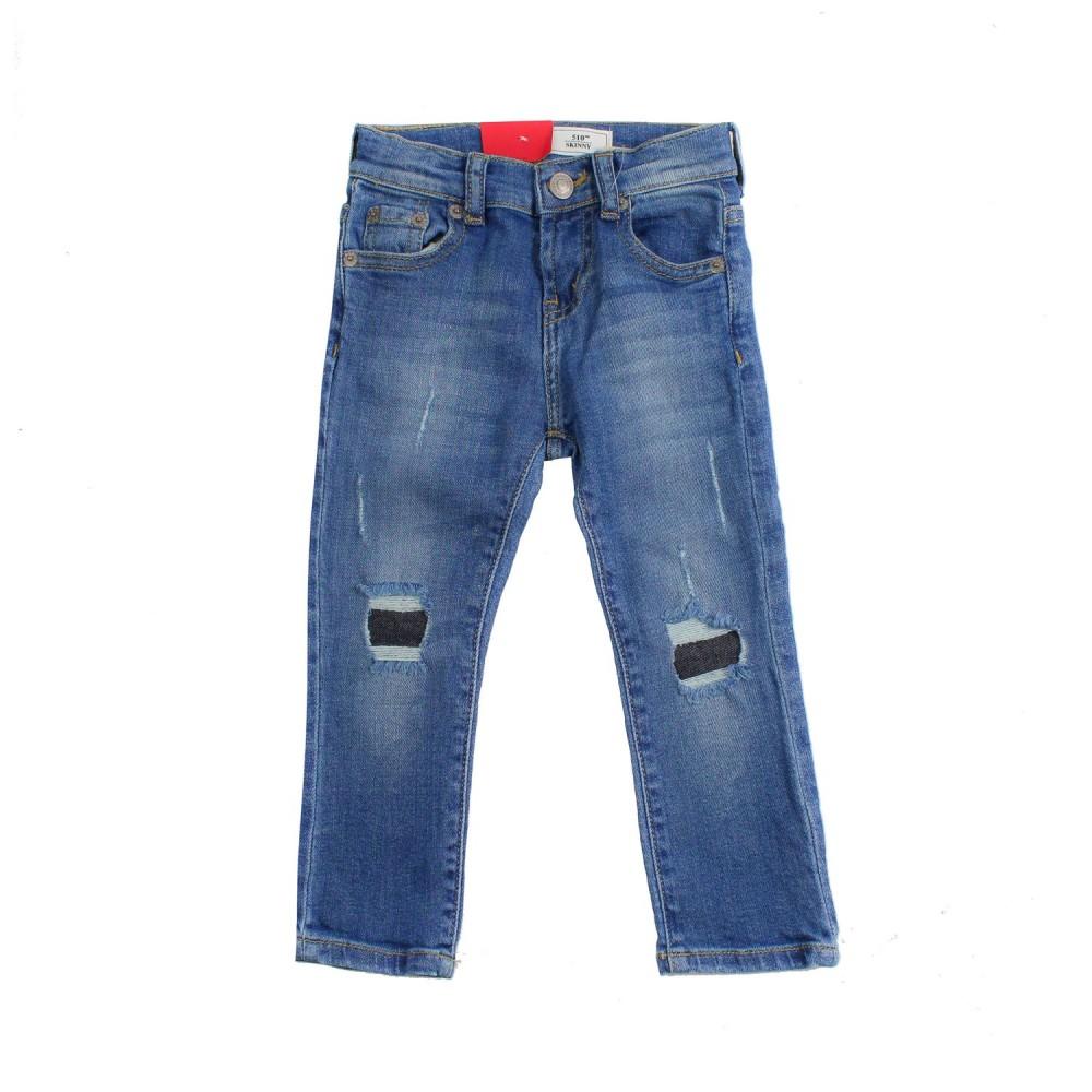 12c9f988a9f Boy 510 blue denim jeans by Levi's Kids - Ivana Vesprini