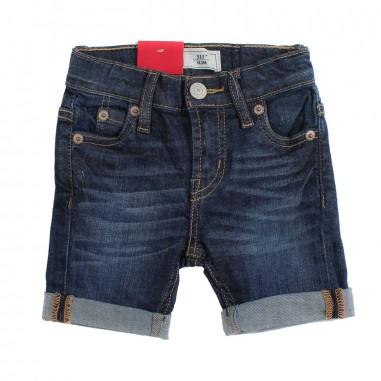 Levi's Bermuda blu scuro jeans 511 per bambino by Levi's Kids nn2508746levis19