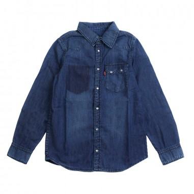 202c03e8c03 Levi's Boys saw denim shirt by Levi's Kids nn1204746levis19