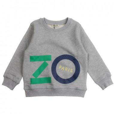 82e5f5896 Grey 'kenzo' sweatshirt by Kenzo Kids
