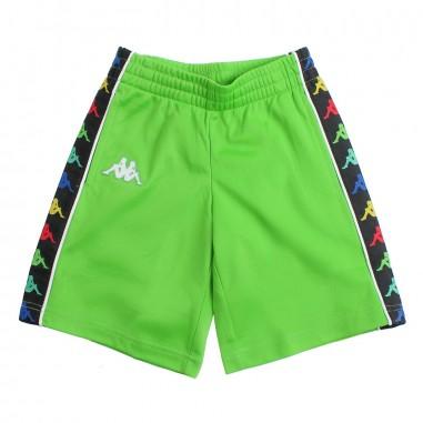 Kappa Kids Boys green logo sidebands bermuda shorts - Kappa Kids 304kee0a10kappa19
