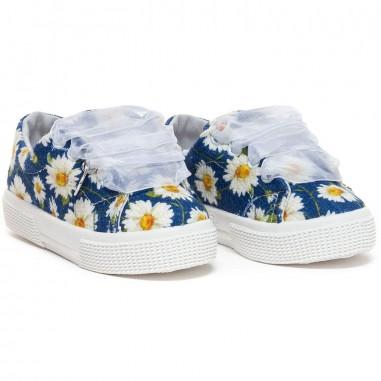Monnalisa Sneakers floreale bambina by Monnalisa 8C300819-19-0056monna19