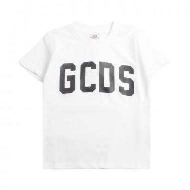 GCDS mini T-shirt bianca logo GCDS bambini by GCDS Kids 020037001gcds19