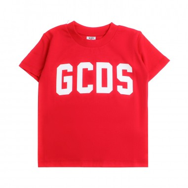 GCDS mini Kids unisex red logo t-shirt by GCDS Kids 020037040gcds19