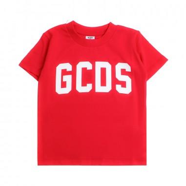 GCDS mini T-shirt rossa logo GCDS bambini by GCDS Kids 020037040gcds19