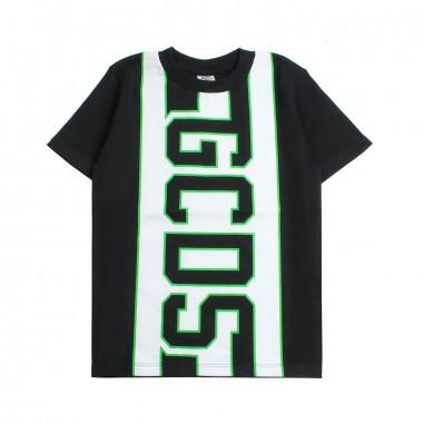 GCDS mini Boys black logo t-shirt by GCDS Kids 019495110gcds19