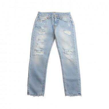GCDS mini Jeans denim chiaro bambino by GCDS Kids 019518200gcds19