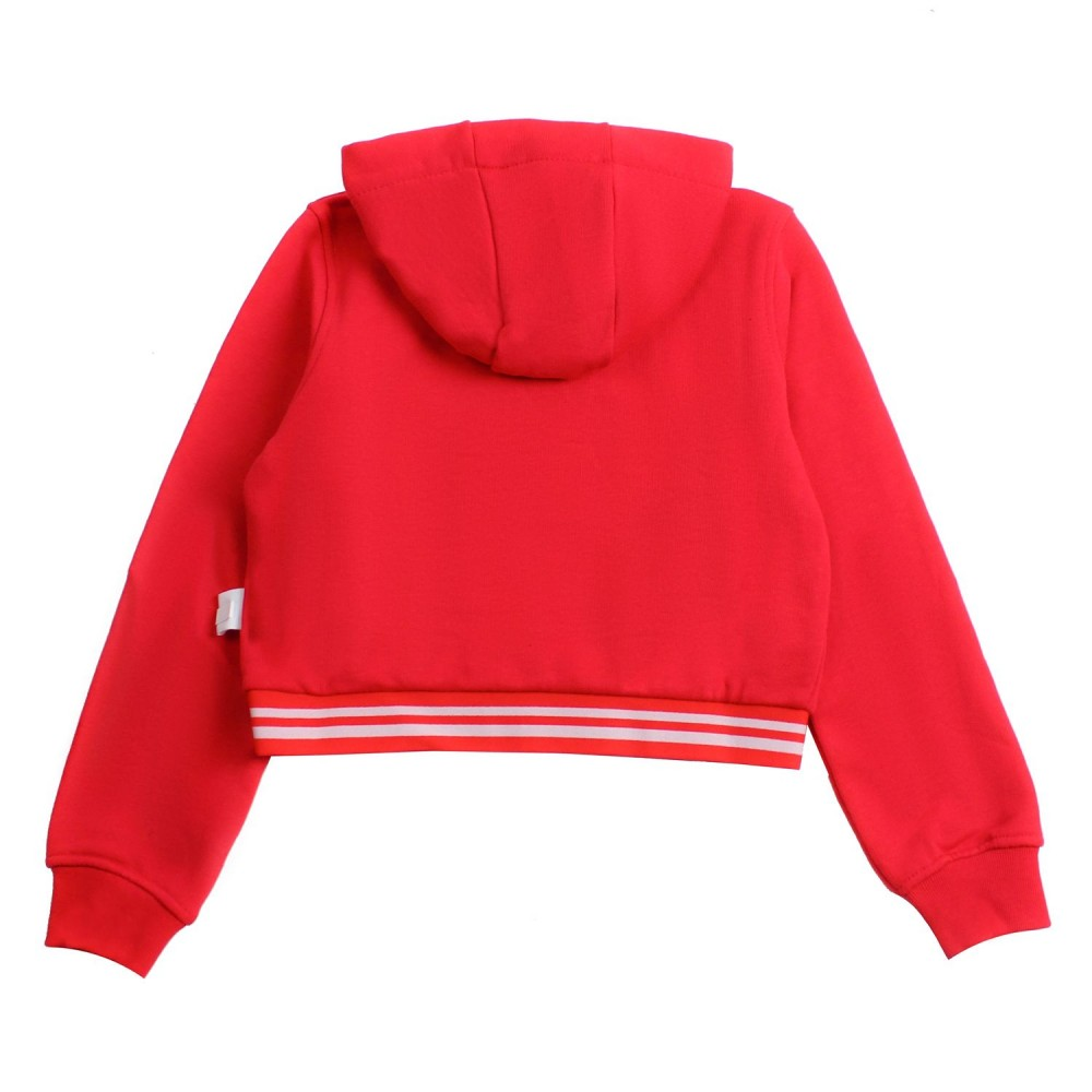 Girls 'j'adore gcds' red sweatshirt by GCDS Kids