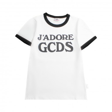 GCDS mini T-shirt j'adore gcds jersey bambina by GCDS Kids 019461001gcds19