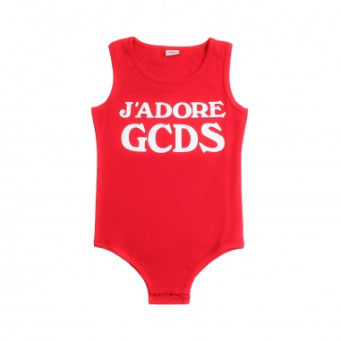 GCDS mini Body jersey stretch bambina by GCDS Kids 019462040gcds19