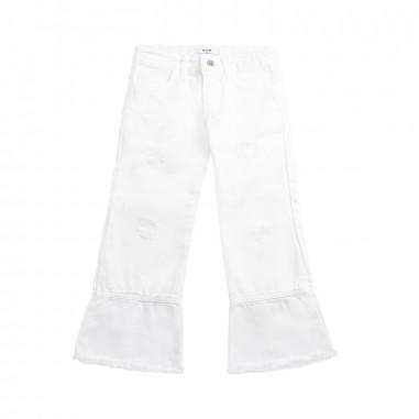 MSGM Pantalone gabardina cropped bambina by MSGM kids 01813219msgm19
