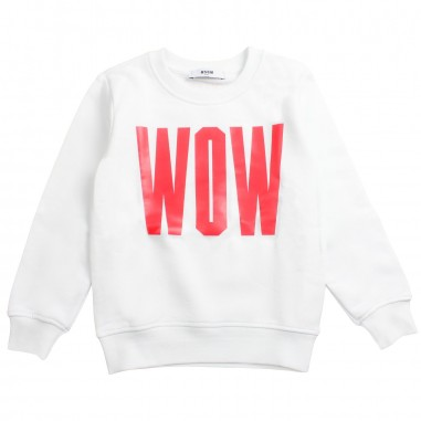 MSGM Boys black cotton hoodie by MSGM Kids 01853919msgm19