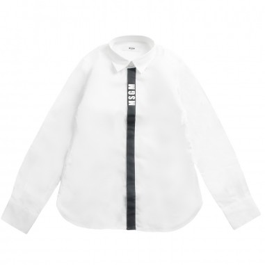 MSGM Camicia bianca popeline bambino by MSGM kids 01856919msgm19