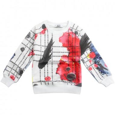 MSGM Boys multicoloured cotton sweatshirt by MSGM Kids 01867019msgm19