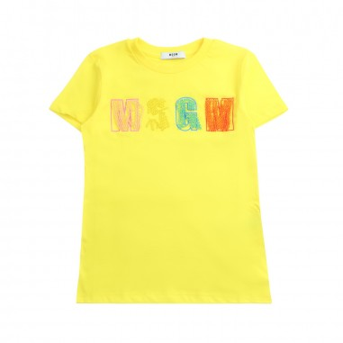 MSGM Girl jersey t-shirt by MSGM Kids 01809119msgm19