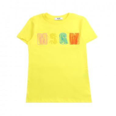 MSGM T-shirt bambina jersey by MSGM kids 01809119msgm19