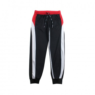 MSGM Boys triacetate black trousers by MSGM Kids 01855119msgm19