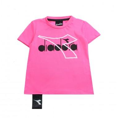 Diadora T-shirt jersey bambina fucsia by Diadora Kids 1964413419diadora19