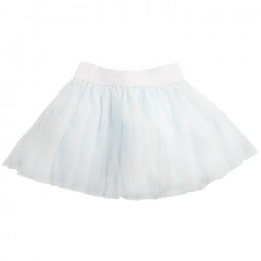 Monnalisa Gonna tulle celeste per bambina by Monnalisa 37cgon0058monna19