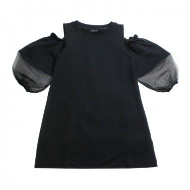 Monnalisa Girls jersey & organza dress by Monnalisa 49391319-19-0050monna19