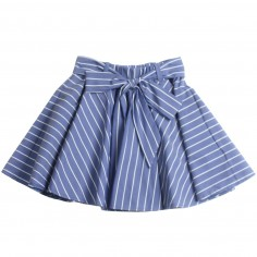 35dd402f19 Piccola Ludo Girls stretch pinstripe skirt by Piccola Ludo  bf4wb019tes02910738picc19