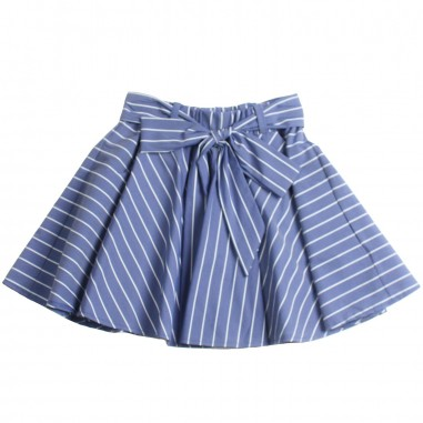 Piccola Ludo Girls stretch pinstripe skirt by Piccola Ludo bf4wb019tes02910738picc19