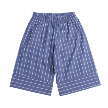 Piccola Ludo Girl wide-fit pinstriped trousers by Piccola Ludo bf4wb001tes02910738picc19
