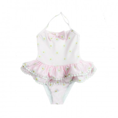 Monnalisa Costume intero rosa bambina by Monnalisa 93300019-19-0090monna19