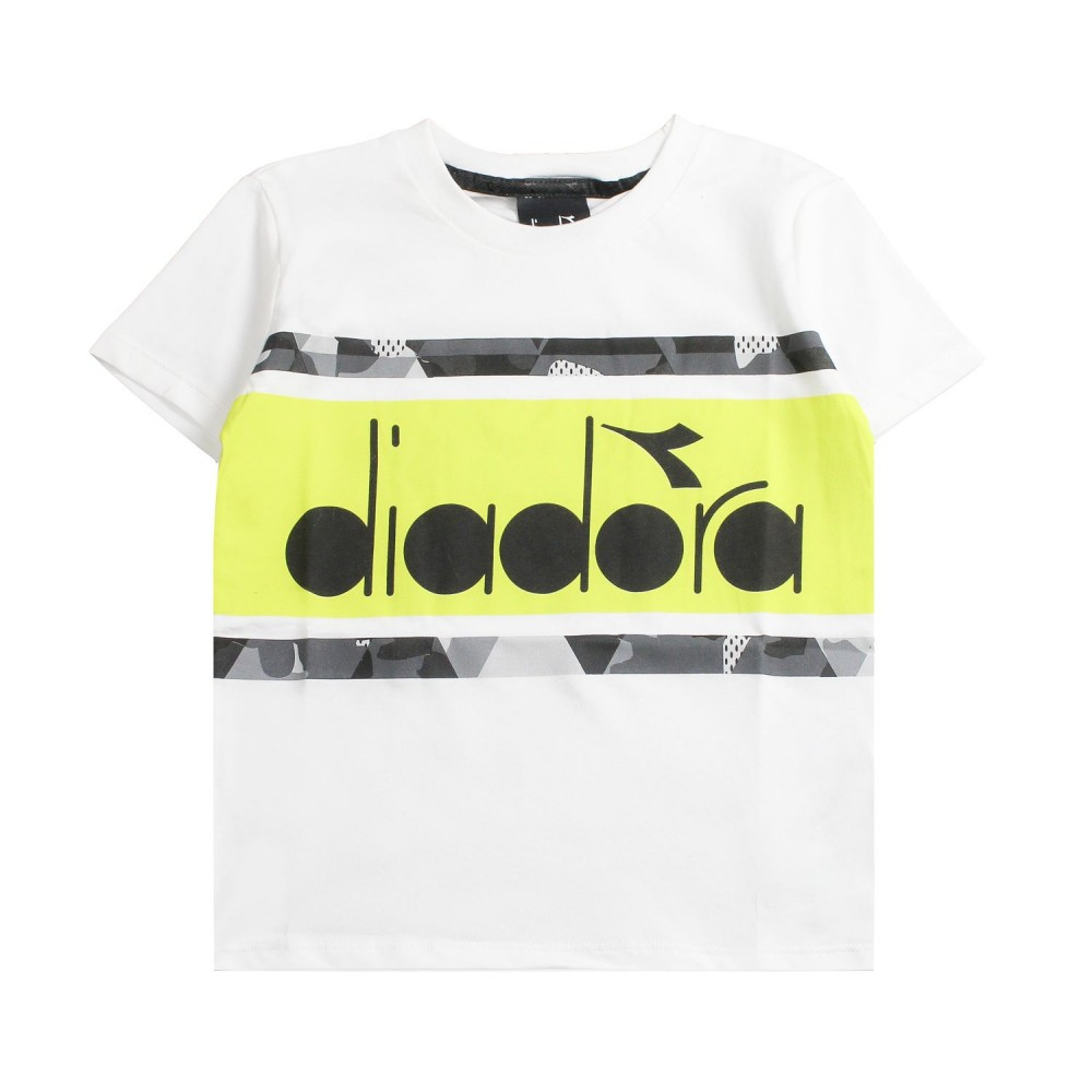 5ae7b8f1c0 Boy jersey logo t-shirt by Diadora Kids