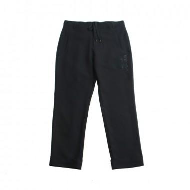 Richmond Pantalone nero bambino by John Richmond Kids rbp19078pa19rich19